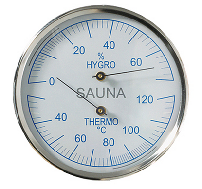 Picture of THERMOMETER - HYGROMETER SAUNA 705723