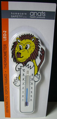 Picture of ΕNVIRONMENT'S KIDS THERMOMETER LION SHAPE LEO-2 ANATS