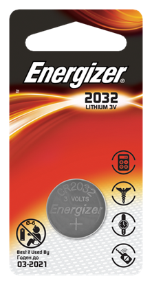Picture of LITHIUM BATTERY ENERGIZER CR2032
