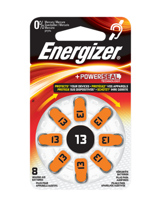 Picture of BATTERY (13) HEADPHONE 8PCS ENERGIZER