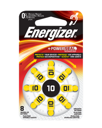 Picture of BATTERY (10) HEADPHONE 8PCS ENERGIZER