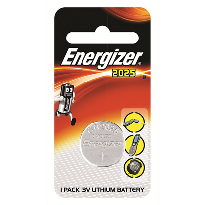 Picture of BATTERY LITHIUM 3V CR2025 ENERGIZER