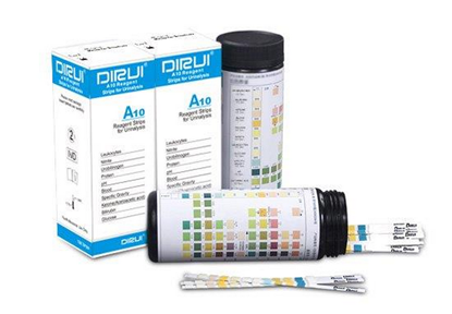 Picture of URINE STRIPS TEST 10 PARAMETERS