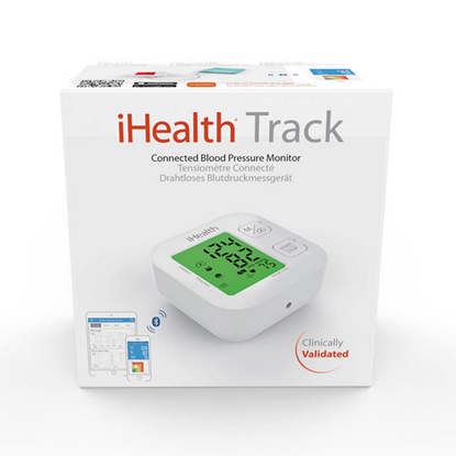 Picture of WIRELESS ARM BLOOD PRESURE MONITOR iHEALTH TRACK KN-550BT