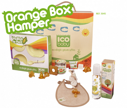 Picture of PRODUCTS SET ORANGE BOX ICOBABY 7045