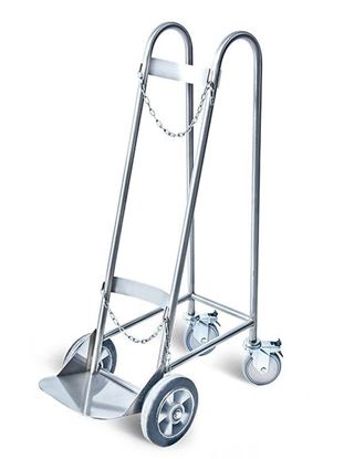 Picture of OXYGEN CYLINDER TROLLEY – HEAVY DUTY D-55