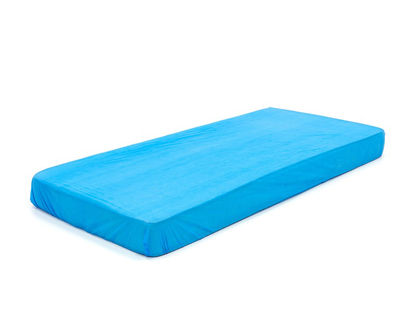 Picture of P.V.C. MATTRESS COVERS BLUE EMBOSSED ROMED