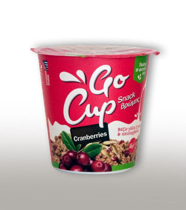 Picture of GΟ CUΡ SNACK WITH OATS & CRANBERRIES 65GR