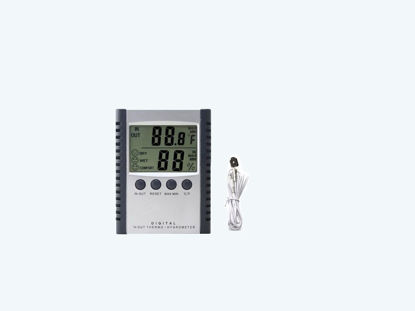 Picture of THERMOMETER,HYGROMETER,DIGITAL,MIN/MAX 306126