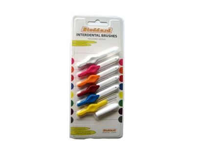 Picture of STODDARD INTERDENTAL BRUSHES MIXED COLOURS