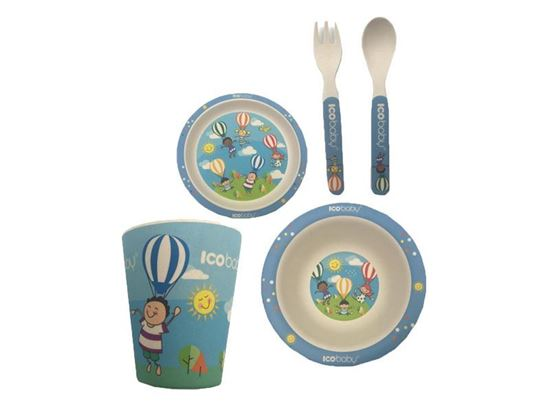 Picture of BABY DISH SET ICOBABY 4073 BALLON