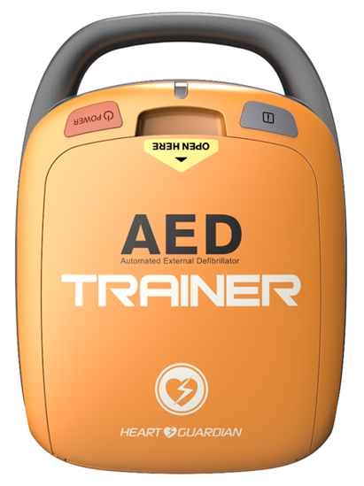 Picture of TRAINER DEFIBRILLATOR RADIAN AED HR-501T GR LANGUAGE