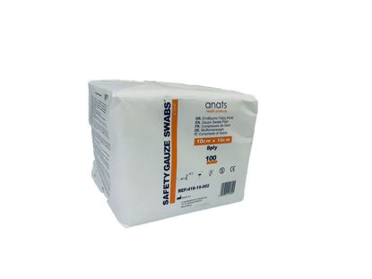 Picture of GAUZE SWABS 10X10 12PLY SAFETY 100pcs