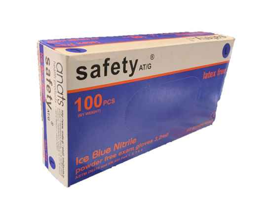 Picture of NITRILE GLOVE 3,2mil SAFETY LARGE