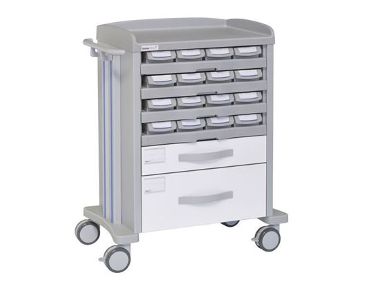 Picture of MEDICATION TROLLEY 72010