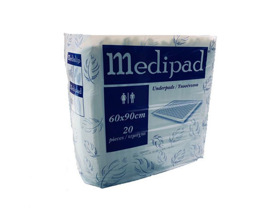 Picture of MEDIPAD UNDERPADS 60x90 20pcs