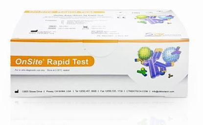 Picture of CORONAVIRUS COVID-19 RAPID TEST